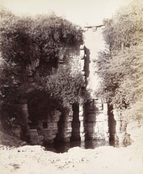 Remains of the Rani Wav or Queen's Well, Patan